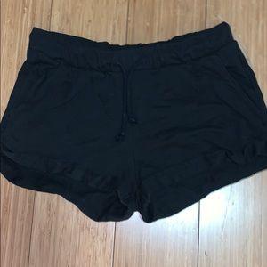 Sweat shorts with cuff